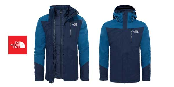 Chaqueta de invierno The North Face M Solaris Triclimate Urban para hombre chollo en Amazon