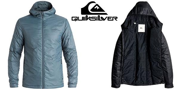 Chaqueta Quiksilver Patrol Primaloft Insulator azul y negra para hombre al mejor precio