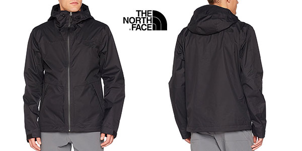 Chaqueta The North Face Frost Peak negra para hombre barata