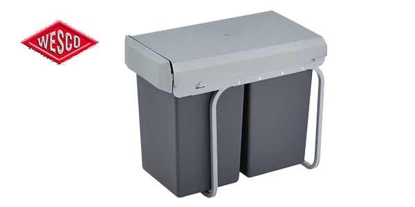 Cubo basura integrado Wesco 12381 chollo en Amazon