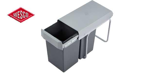 Cubo basura integrado Wesco 12381 barato en Amazon