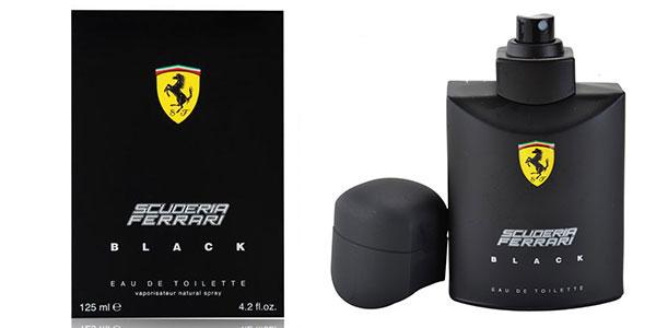 Eau de toilette Scuderia Ferrari Black de 125 ml rebajada