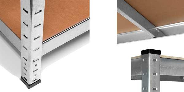 Estanteria metalica galvanizada 875kg chollazo en eBay