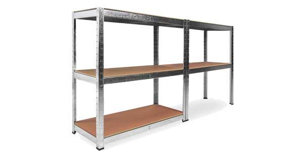 Estanteria metalica galvanizada 875kg barata en eBay