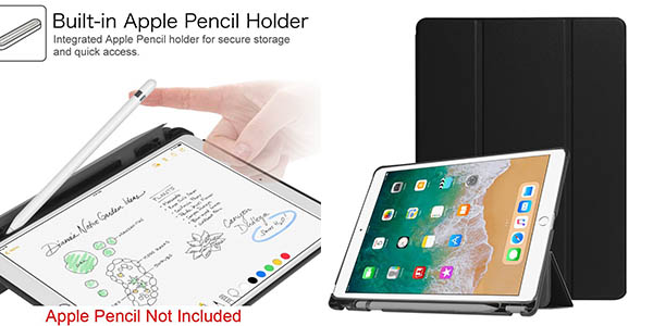 funda Fintie para iPad Pro 10,5 pulgadas con espacio para Apple Pencil chollo