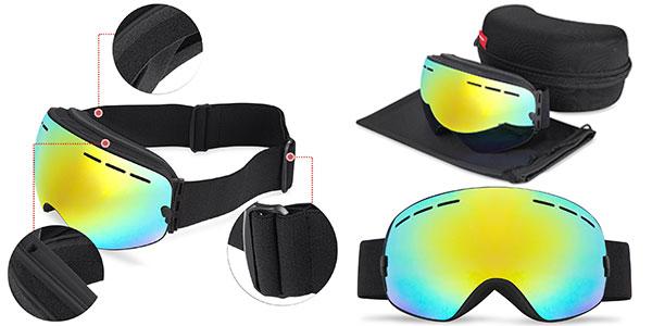 Gafas de esquí polarizadas Hamswan prtección UV para adultos al mejor precio