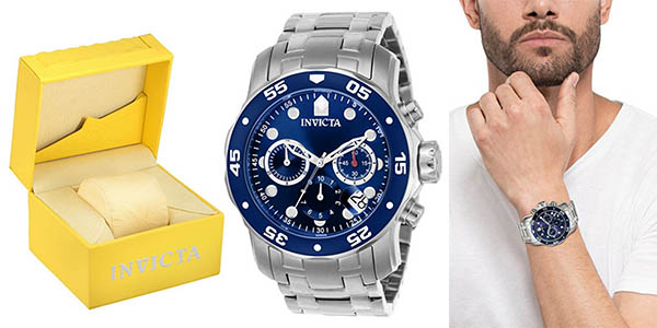 Invicta Pro Diver 070 reloj en acero inoxidable para hombre chollo