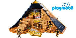 Juguete infantil Pirámide del Faraón de Playmobil barato