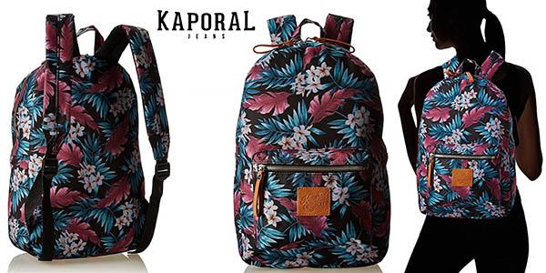 Kaporal Duc mochila casual con estampado floral barata