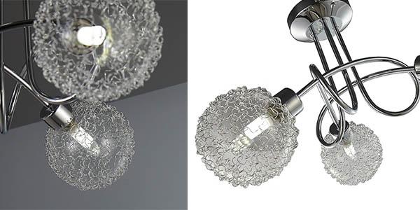 lámpara Focos bombillas LED G9 incluidas 320 lúmenes cada una