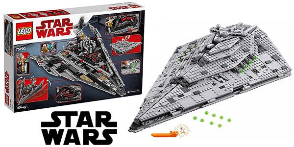 Lego Star Wars destructor de la primera orden 75190 barato