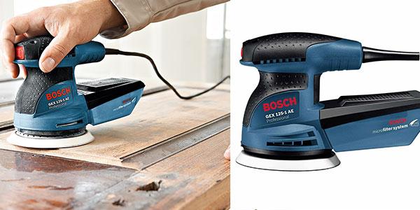 Lijadora excéntrica Bosch GEX 125-1 AE de 250W al mejor precio