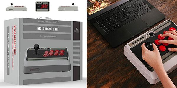 Mando N30 Arcade Stick inalámbrico para Switch, Windows, Mac,, Android y Raspberry al mejor precio