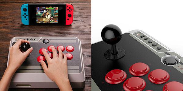 Mando N30 Arcade Stick inalámbrico para Switch, Windows, Mac y Android barato