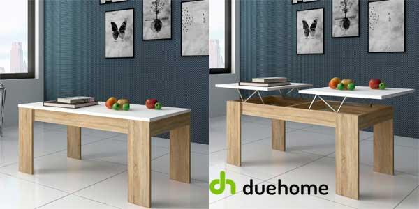 Mesa de centro Ganso de Duehome con 2 superficies elevables disponible en 2 colores chollo en eBay