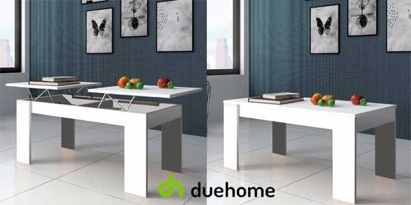 Mesa de centro Ganso de Duehome con 2 superficies elevables disponible en 2 colores chollazo en eBay