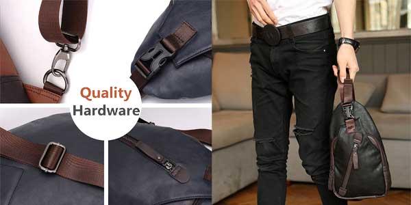 Comprar Elegante mochila de hombro Freemaster estilo vintage para hombre barata en Amazon