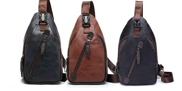 Comprar Elegante mochila de hombro Freemaster estilo vintage para hombre chollo en Amazon
