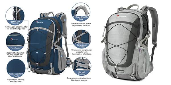 mochila de senderismo Mountaintop 35 litros de capacidad barata