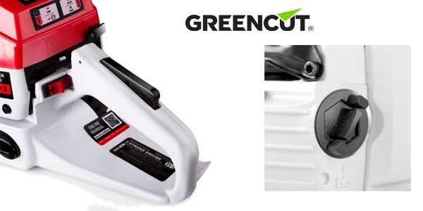 """Motosierra gasolina Greencut GS7200 para tala con espada de 24"""" cilindrada 72 cc chollo barato en eBay"""