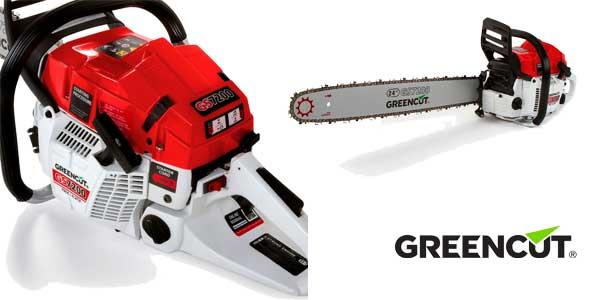 """Motosierra gasolina Greencut GS7200 para tala con espada de 24"""" cilindrada 72 cc chollazo en eBay"""