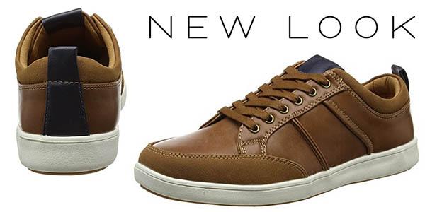 New Look Euro Trainer zapatillas casual para hombre chollo