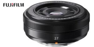 Objetivo Fujinon XF 27mm F2.8 Fujifilm barato