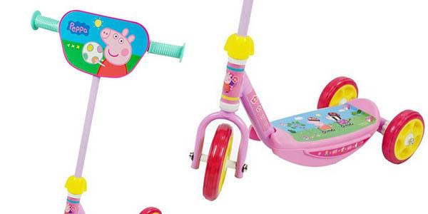 Peppa Pig patinete para niños de 20 kg de peso máximo oferta