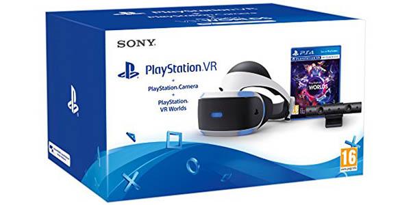 PlayStation VR + Cámara PlayStation V2 + VR Worlds + Astro Bot VR barato