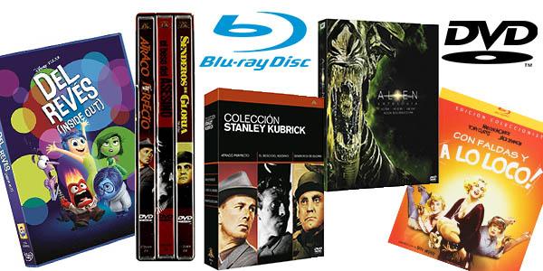 promoción DVD y Blu-ray Amazon octubre 2017