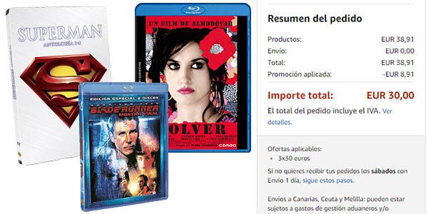 promoción de películas en Blu-ray y DVD precios locos