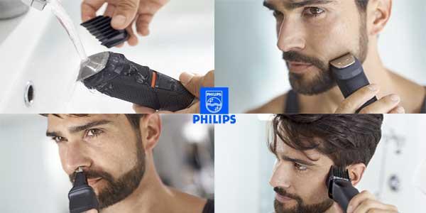 Recortador de barba Philips MG5720/15 y precisión 9 en 1 con tecnología Dualcut chollazo en Amazon