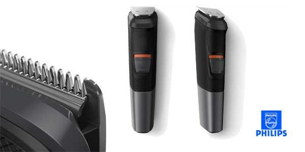 Recortador de barba Philips MG5720/15 y precisión 9 en 1 con tecnología Dualcut barata en Amazon