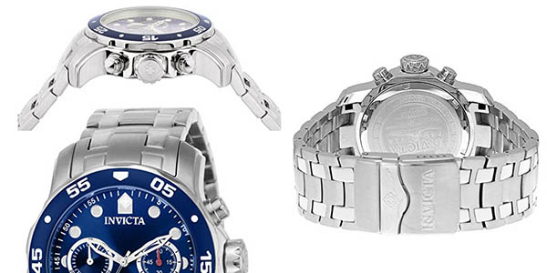 reloj de pulsera Invicta Pro Diver para hombre elegante