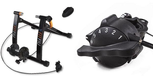 Rodillo de ciclismo Fitfiu BI-T05 con resistencia magnética al mejor precio