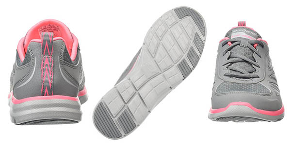 Skechers zapatillas con Memory Foam para mujer genial relación calidad-precio