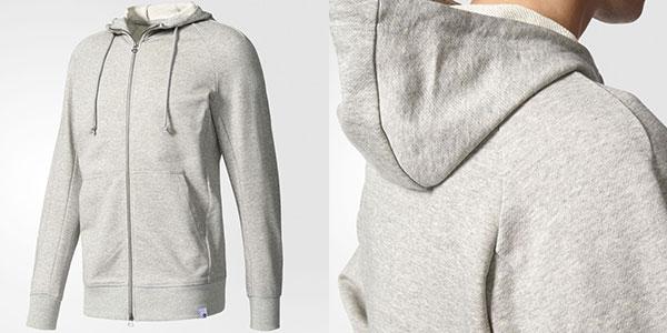 Sudadera con capucha Adidas Originals X by O gris al mejor precio