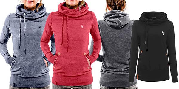 sudadera con capucha Styledome para mujer cómoda y barata