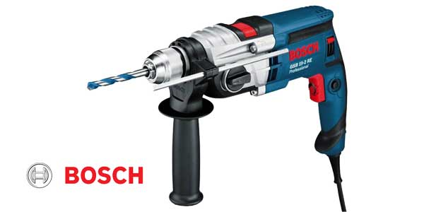 Taladro de impacto Bosch GSB 19-2 RE de 850 W chollo en Amazon