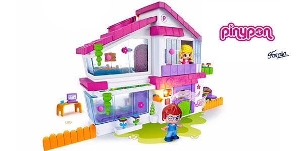Villa Pinypon de Famosa con 2 muñecos al mejor precio