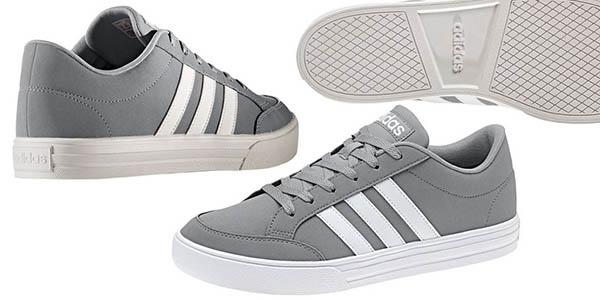 zapatillas de estilo casual diseño unisex Adidas VS Set tipo tenis chollo