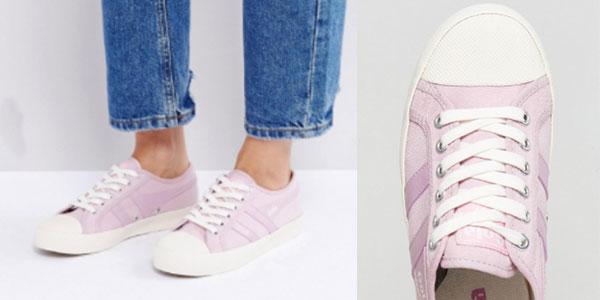 Zapatillas casual Gola Coaster rosa para mujer al mejor precio