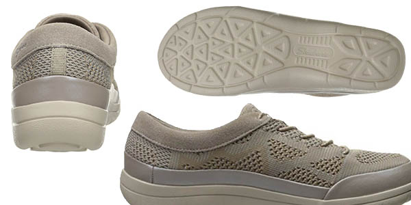 zapatillas transpirables Skechers Lite-Step Reactive con plantilla Memory Foam