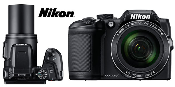 Cámara bridge digital Nikon Coolpix B500 de 16 MP rebajada
