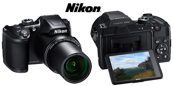 Cámara digital Nikon Coolpix B500 de 16 MP barata