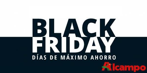 Chollos del Catálogo Black Friday 2019 de Alcampo