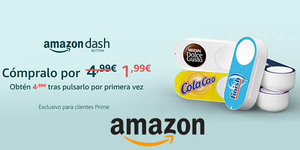 Amazon Dash Button promoción Black Friday 2017