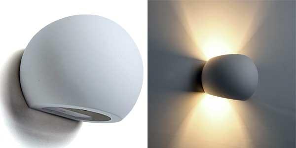 Apliques LED de pared Deckey de estilo moderno para interiores chollo en Amazon