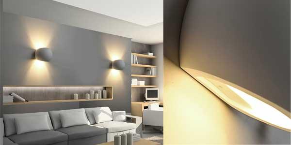 Apliques LED de pared Deckey de estilo moderno para interiores baratos en Amazon