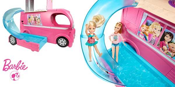 Autocaravana Superdivertida Barbie de Mattel CJT42 chollazo en Amazon España